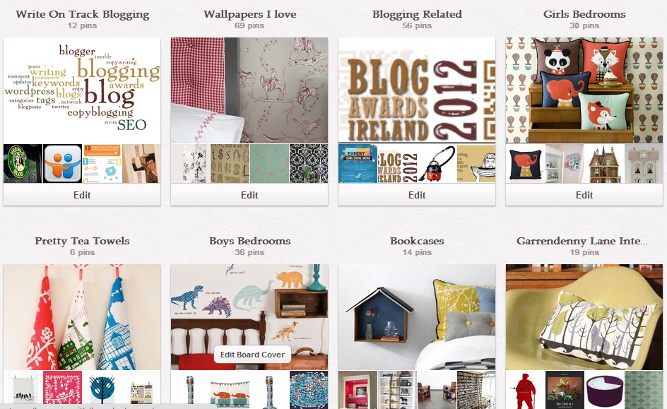 Pinterest Board Covers After
